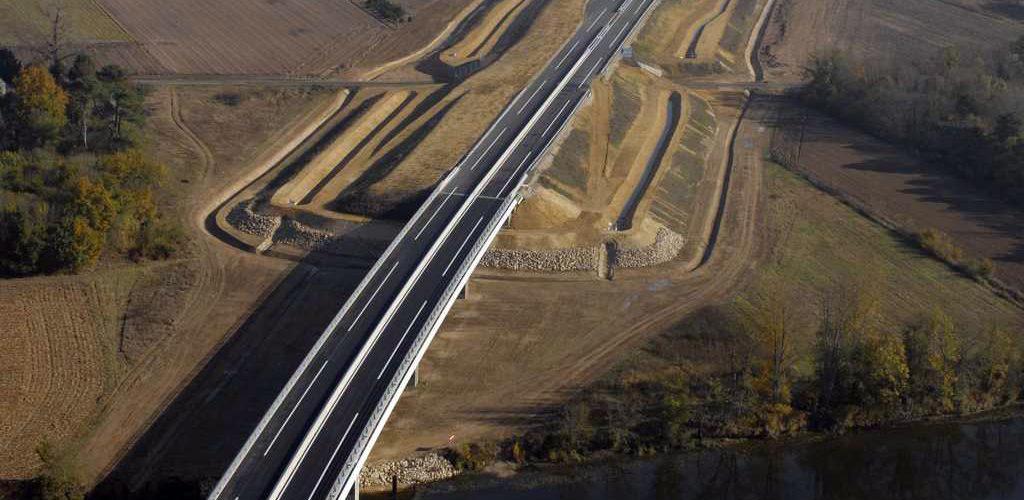 A85 – Doublement de 6 viaducs