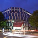 Construction de l'immeuble Clarins