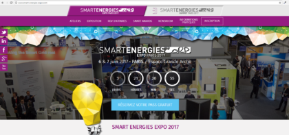 Retrouvez-nous au Smart Energies Expo Paris 2017 !