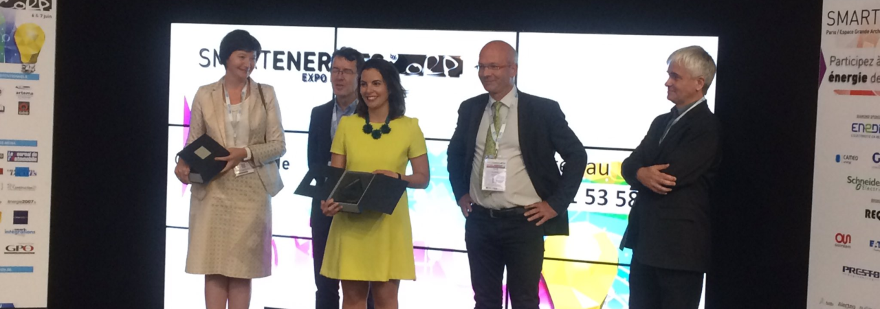 Sobre, lauréat du Smart Energies Award 2017 catégorie consommateurs et usages!