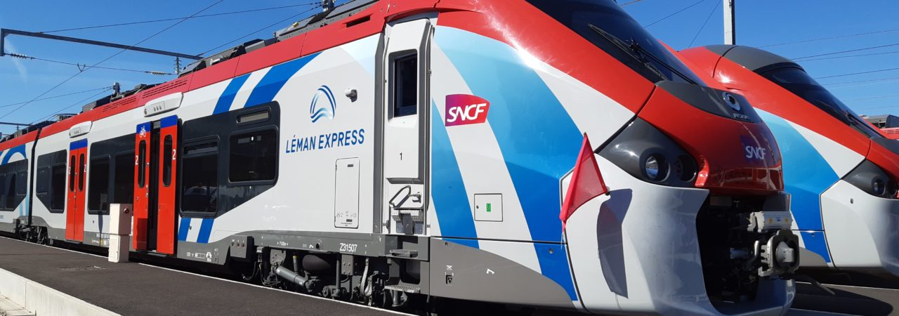 Nous avons participé à l'exercice de sécurité du Léman Express!