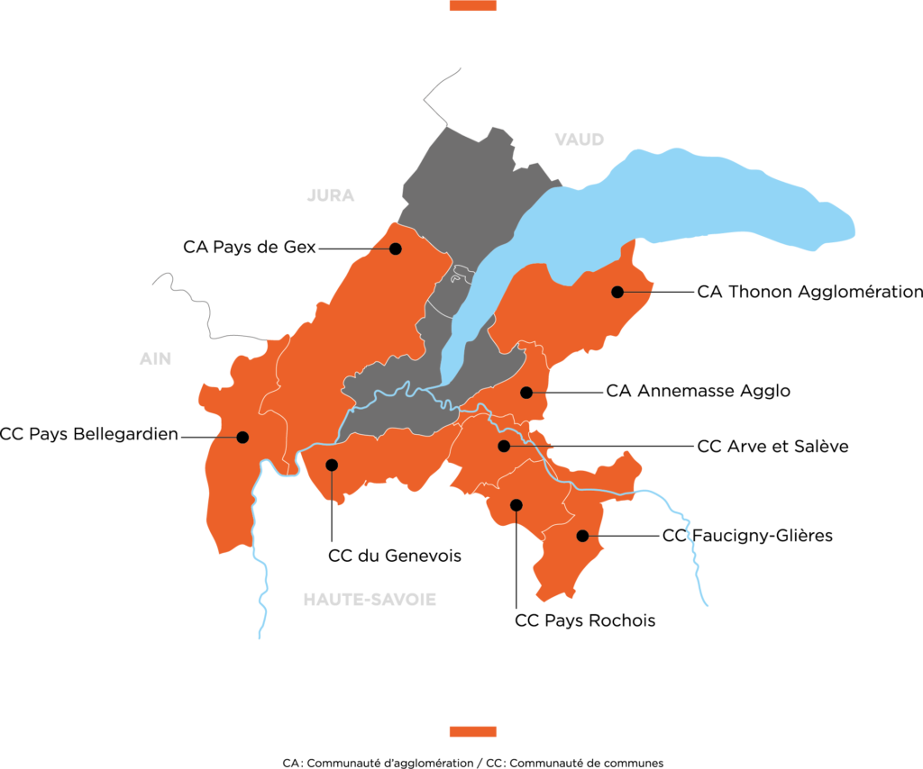 carte genevois français