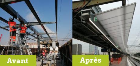 Gare de Lyon Part-Dieu: les nouveaux quais sont ouverts!